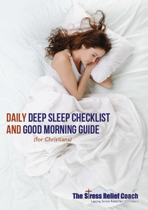 Daily Deep Sleep Checklist and Good Morning Guide